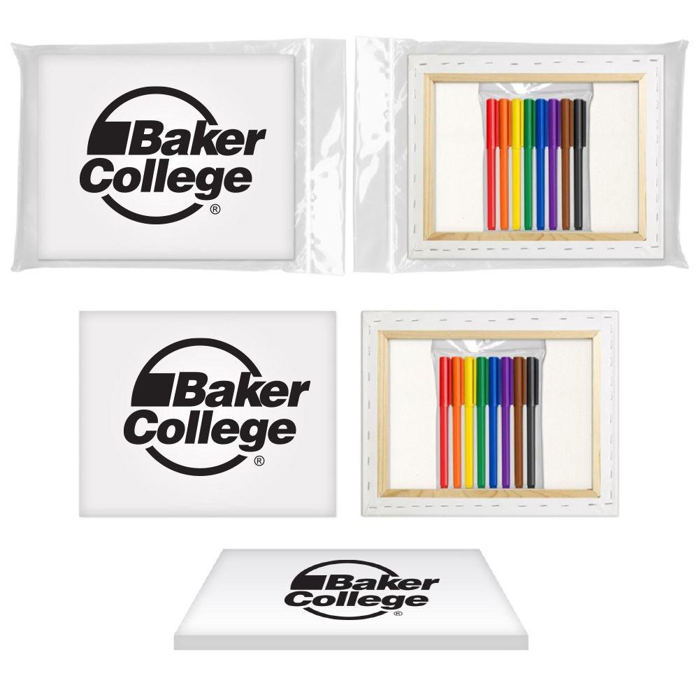 u-color canvas art +8 pk Market Set-Personalization Available