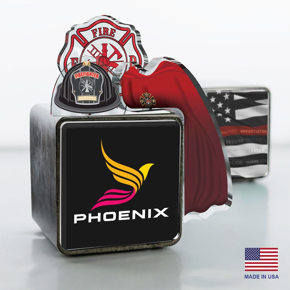 Hero Cube - Firefighter Edition - Personalization Available