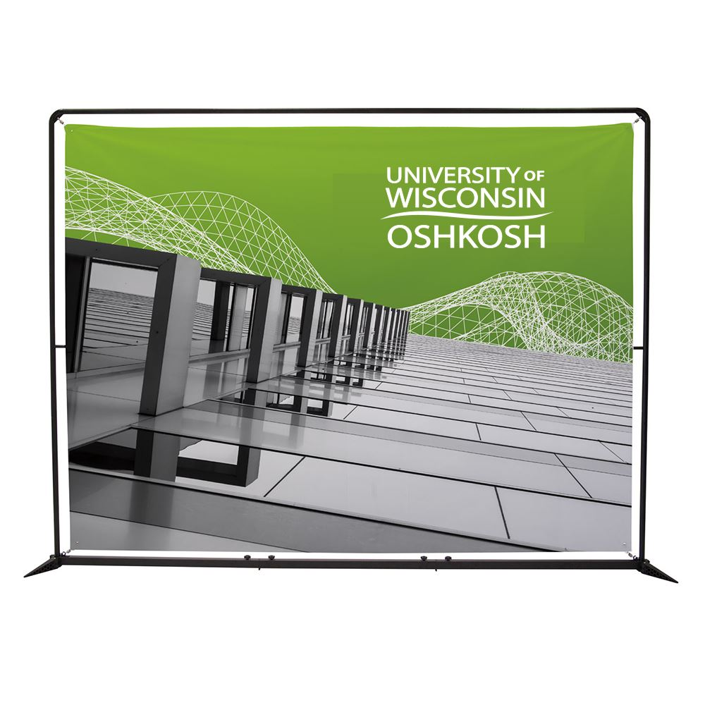 10.5' FrameWorx Banner Display Kit - Full Color Personalization Available