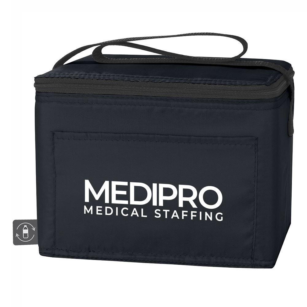Non-Woven Cooler Bag with 100% rPET Material - Personalization Available