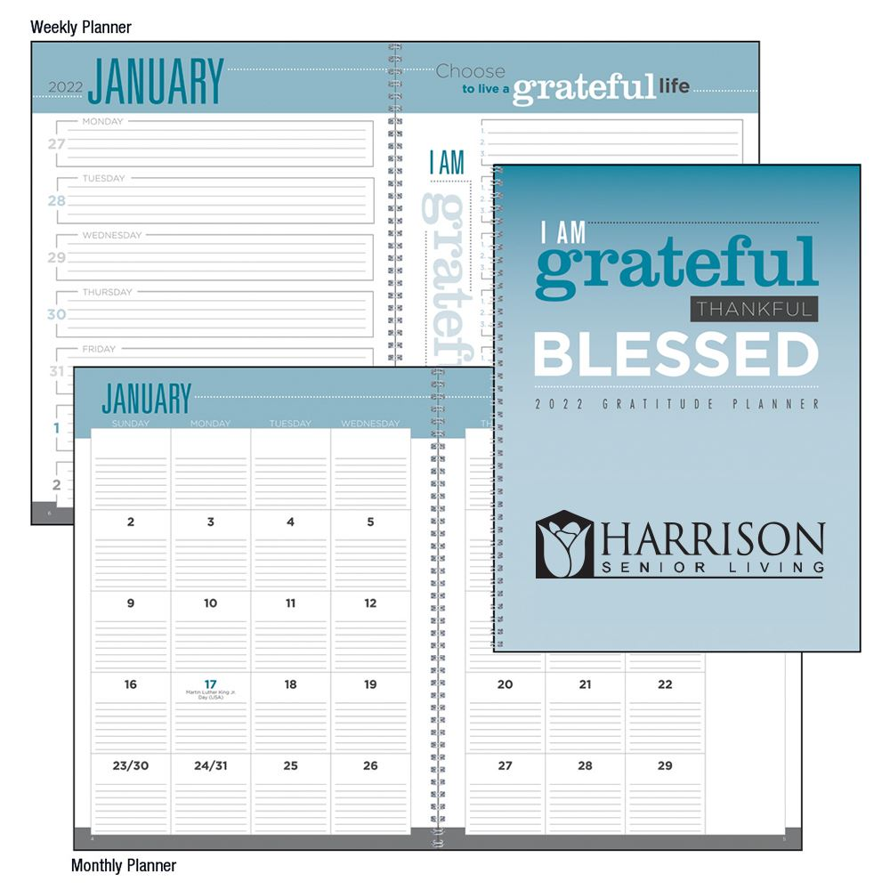 Gratitude Planner 2021 - Personalization Available