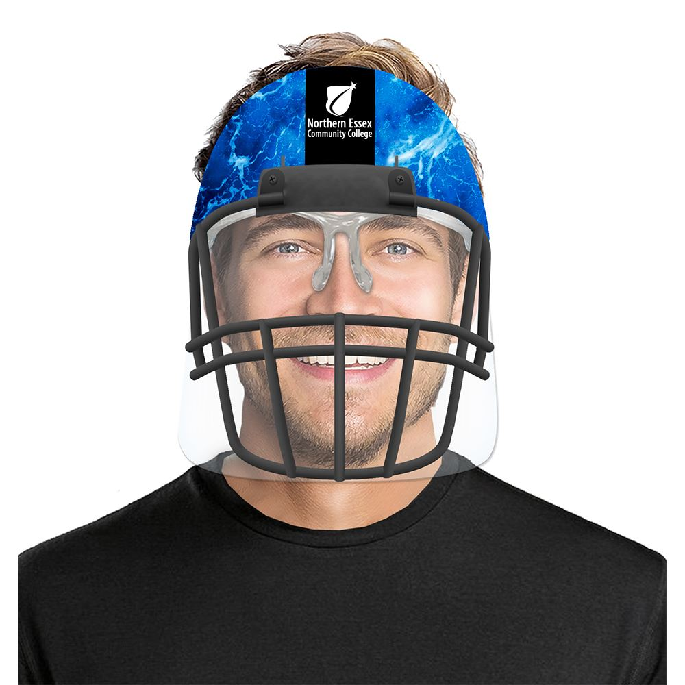 Round Top Sports Face Shields - Personalization Available