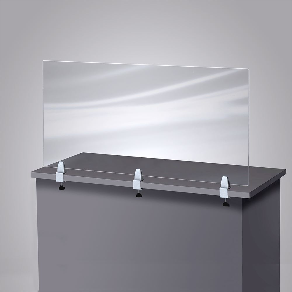 3 Clamp Table Barrier 47-1/2