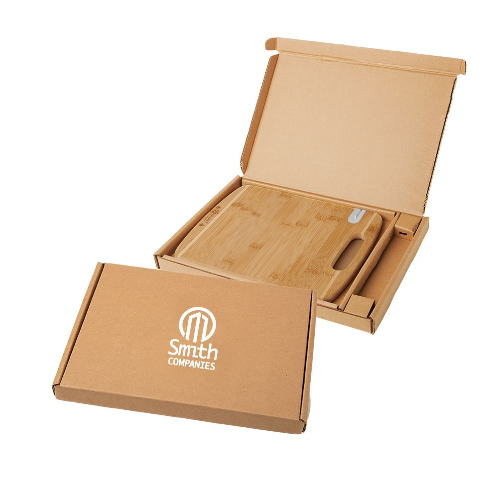 Bamboo Sharpen-It Cutting board with Gift Box-Personalization Available