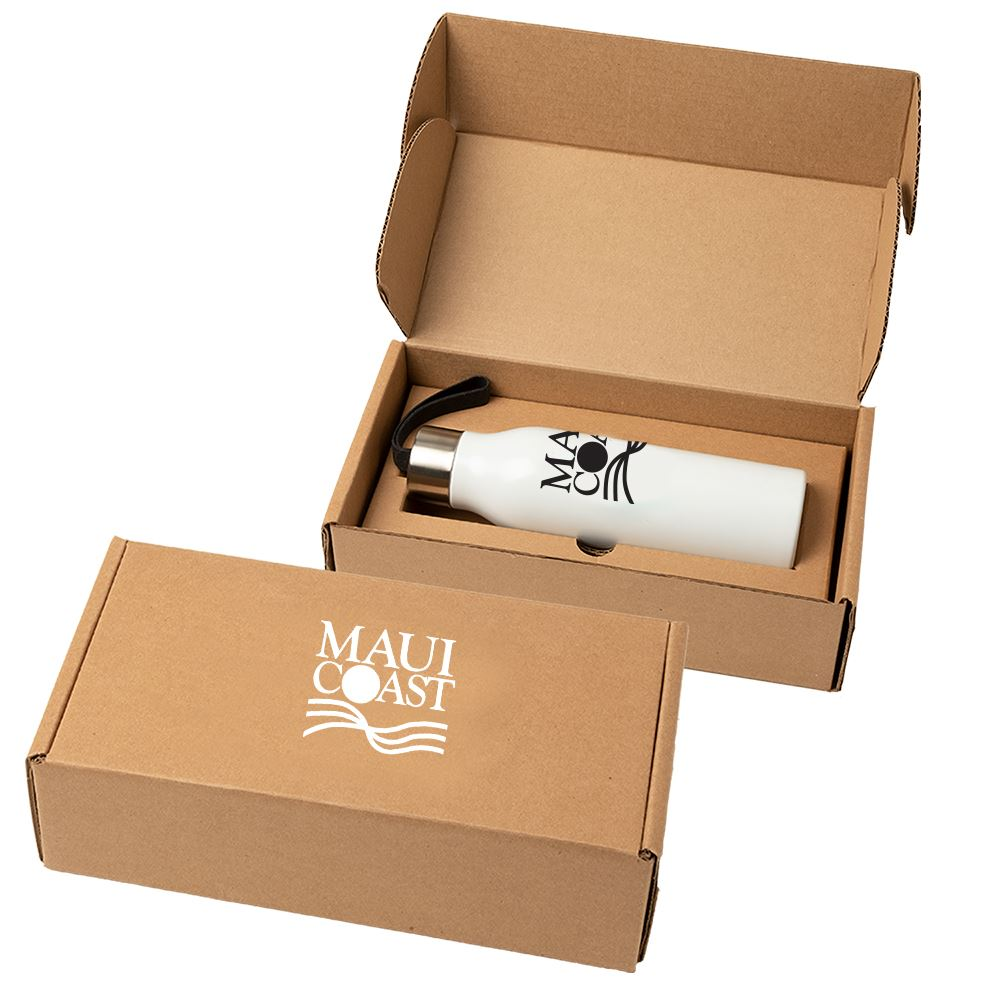 Mood Stainless Steel 24 oz. Bottle with Gift Box - Personalization Available