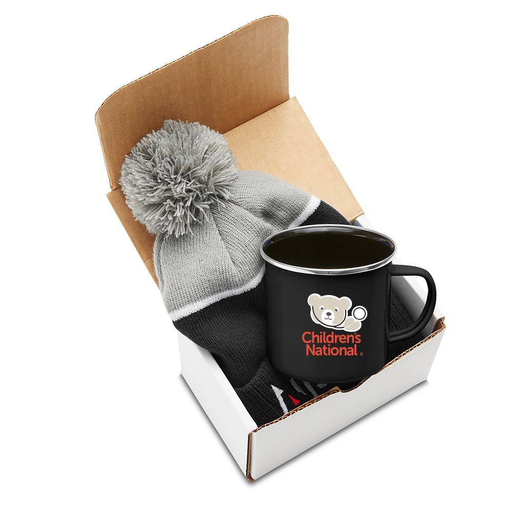 Log Cabin Warm Gift Set - Personalization Available