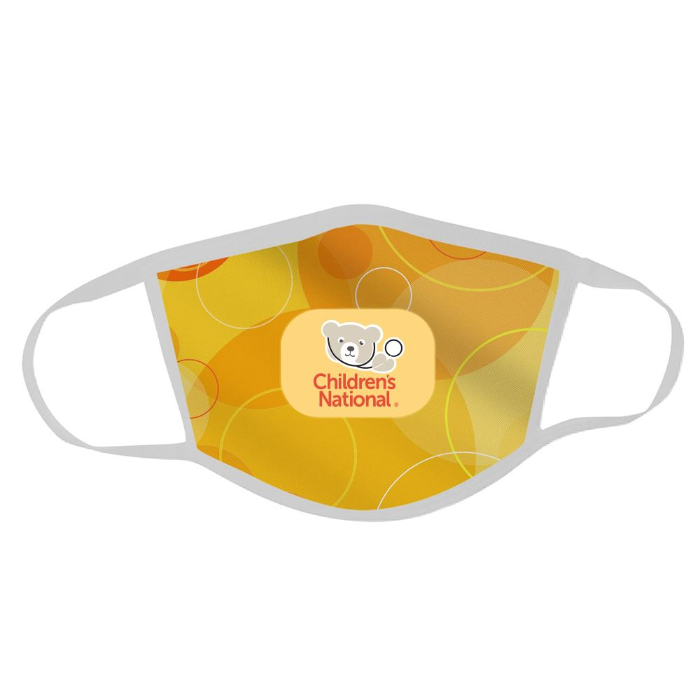2-Ply Polyester Face Mask - Full Color Personalization Available
