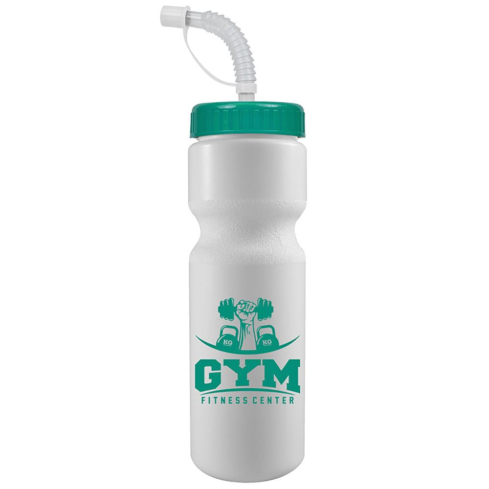 The Journey Bike Bottle With Straw Lid -  28 Oz-Personalization Available