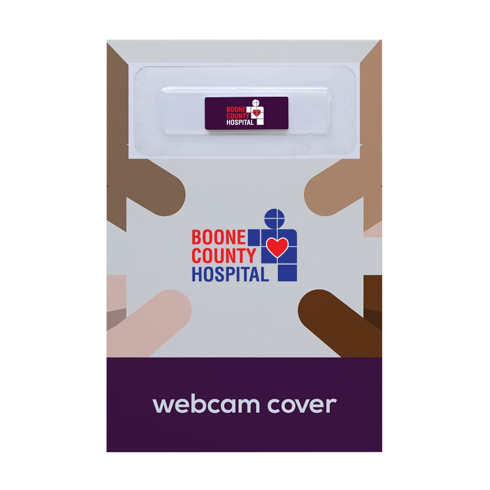Webcam Cover by C-Slide with Custom Packaging - Full Color Personalization Available
