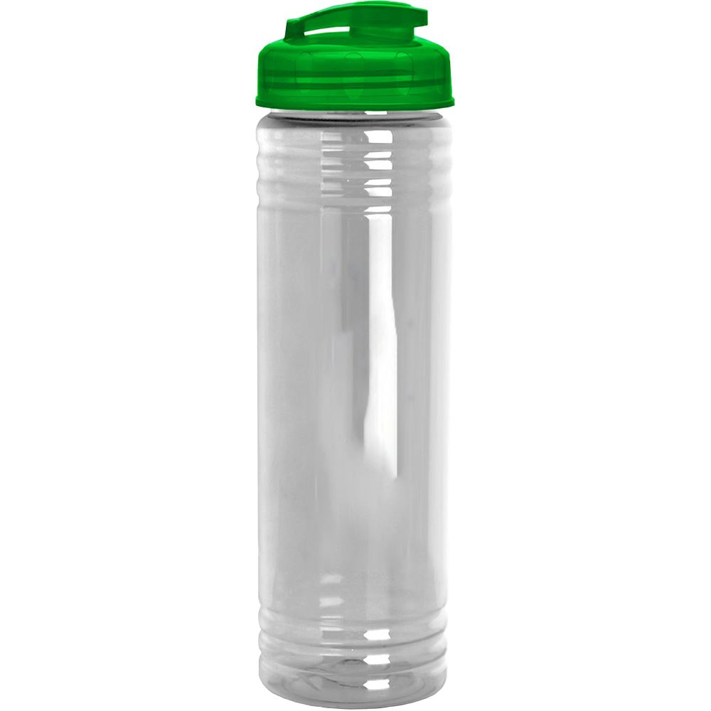 Slim Fit Water Bottle With Flip Lid 24-Oz. - Blank