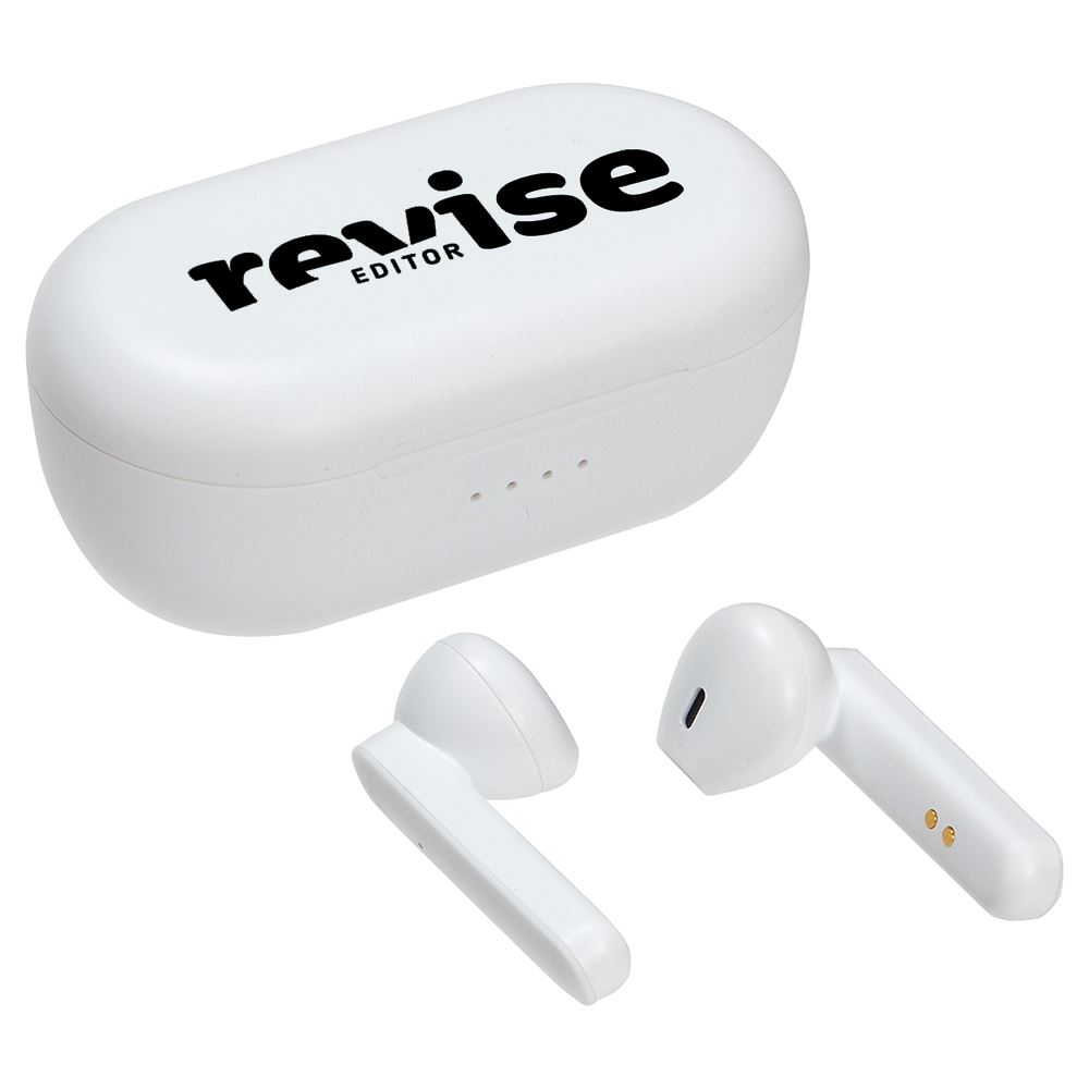 Pulse TWS Earbuds with Power Case-Personalization Available