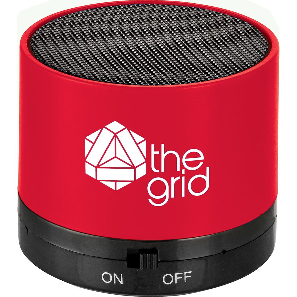 Cylinder Bluetooth 3W Speaker - Personalization Available