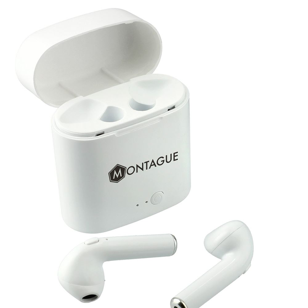 Bawl True Wireless Auto Pair Earbuds and Case - Personalization Available