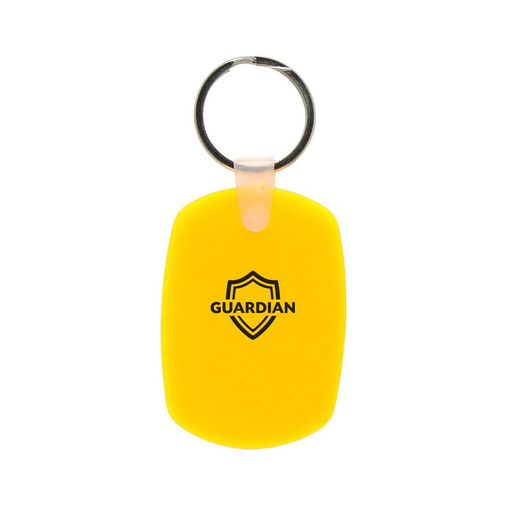 Oval Soft Keytag- Personalization Available