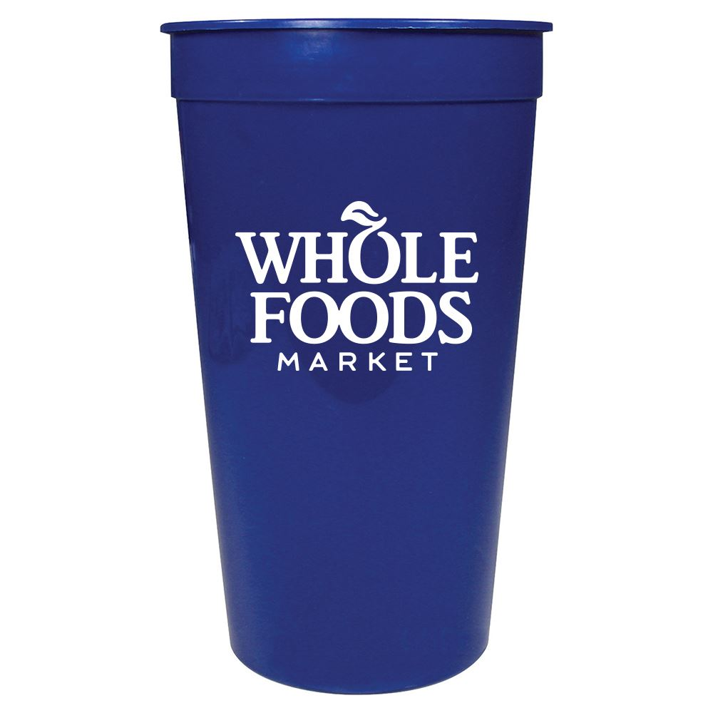 Solid 32 oz. Stadium Cup- Personalization Available