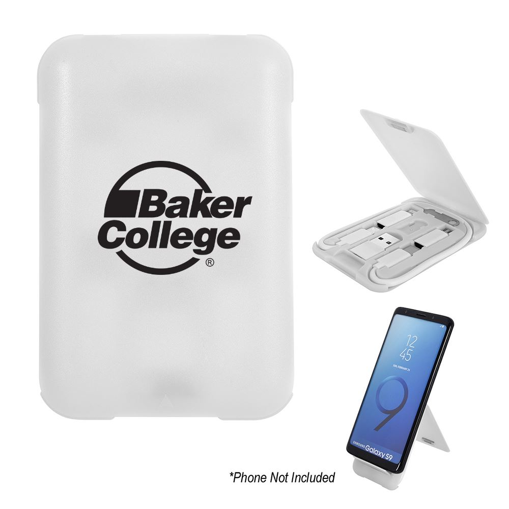 3-in-1 Charging Cable Set and Phone Stand- Personalization Available