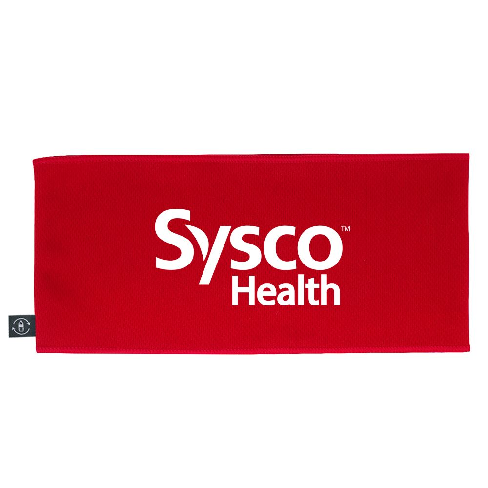 Cooling Headband with 100% rPET Material- Personalization Available