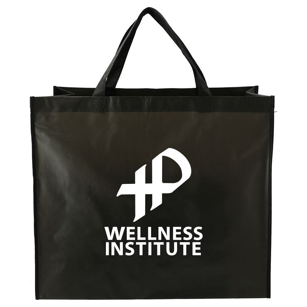 Double Laminated Wipeable Jumbo Tote - Personalization Available
