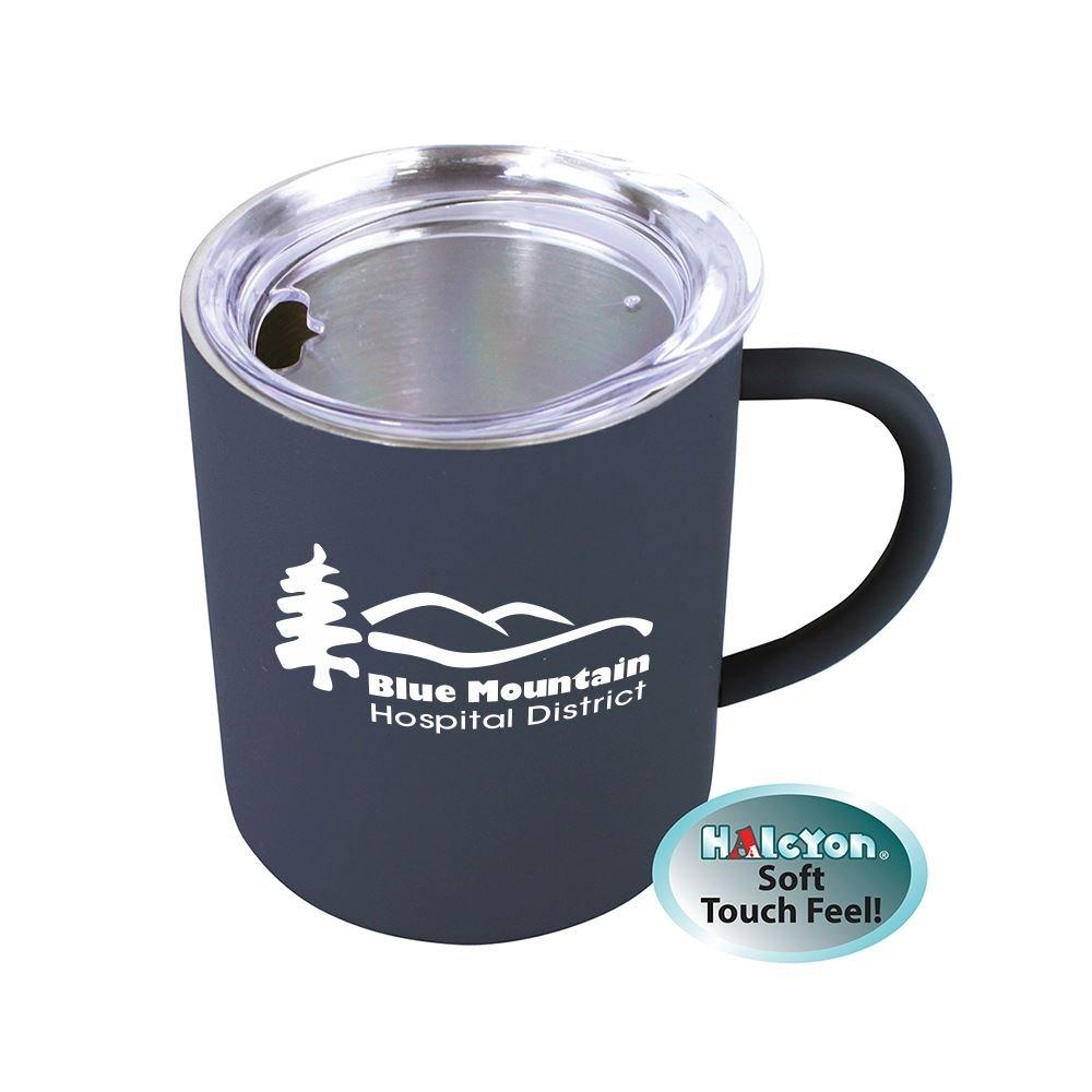 Halcyon Coffee Mug With Acrylic Lid 14 Oz. Personalization Available