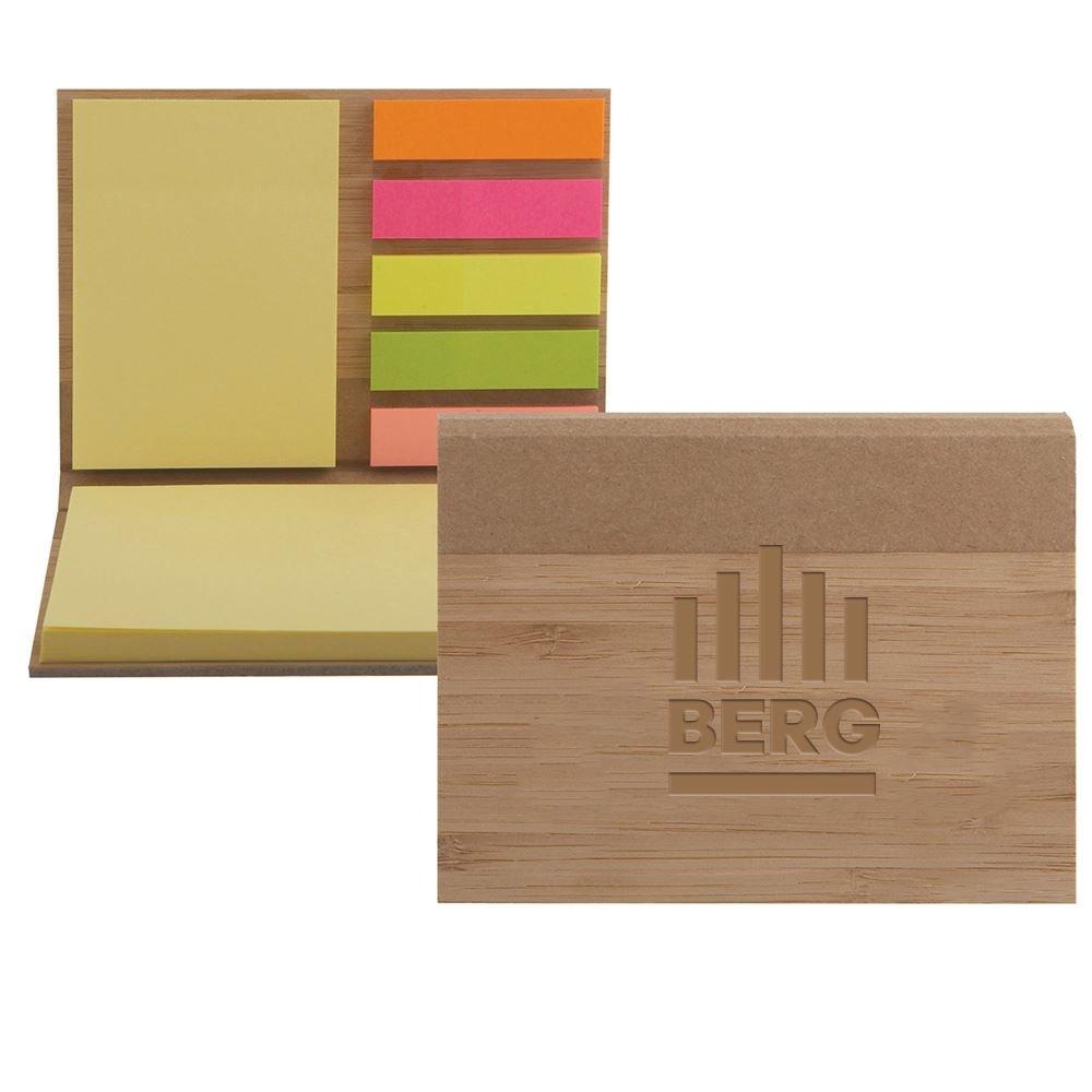 Bamboo Sticky Notepad