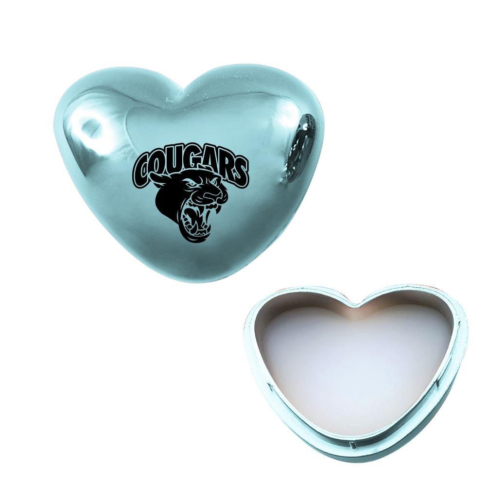 Metallic Heart Lip Moisturizer- Personalization Available