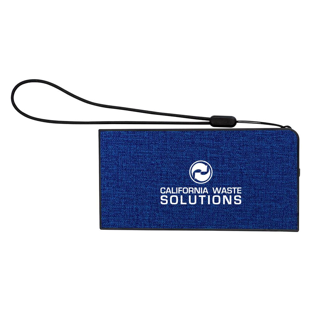 UL Heathered Power Bank -�Personalization Available