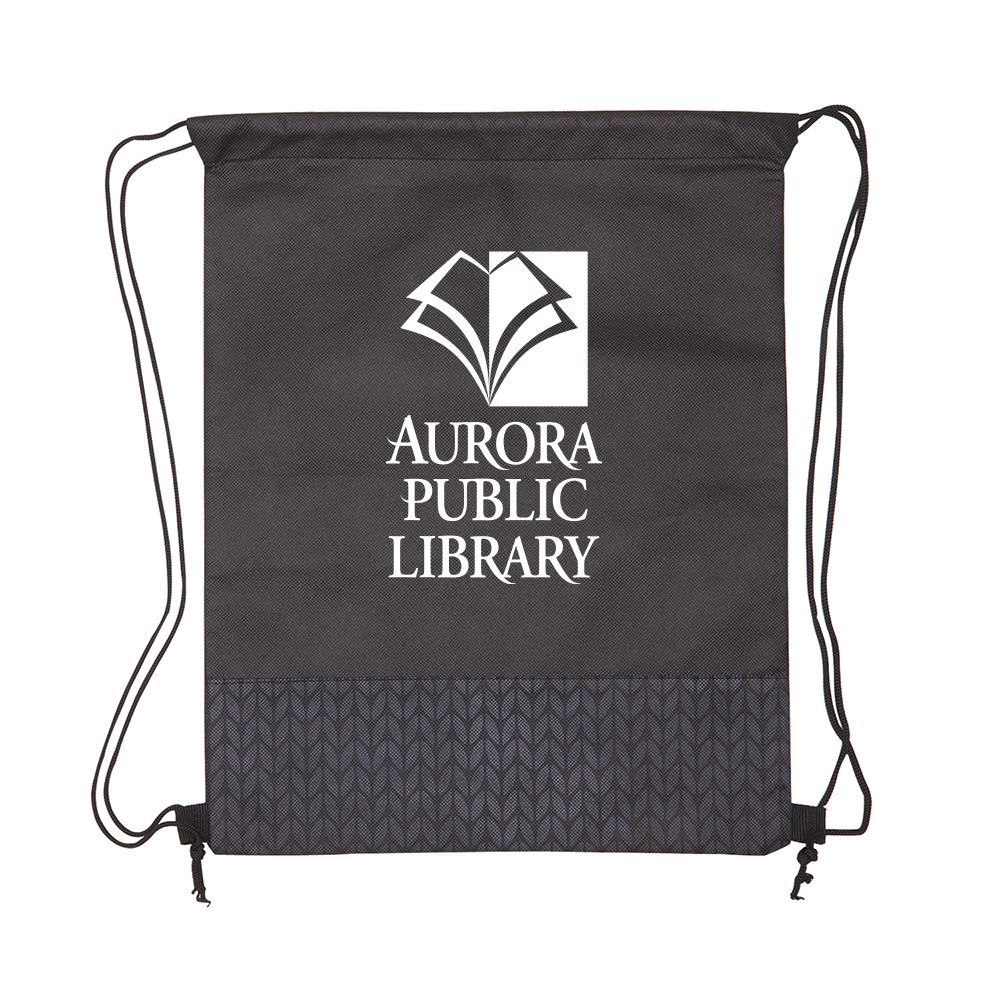 Pathway Non-woven Drawstring Backpack