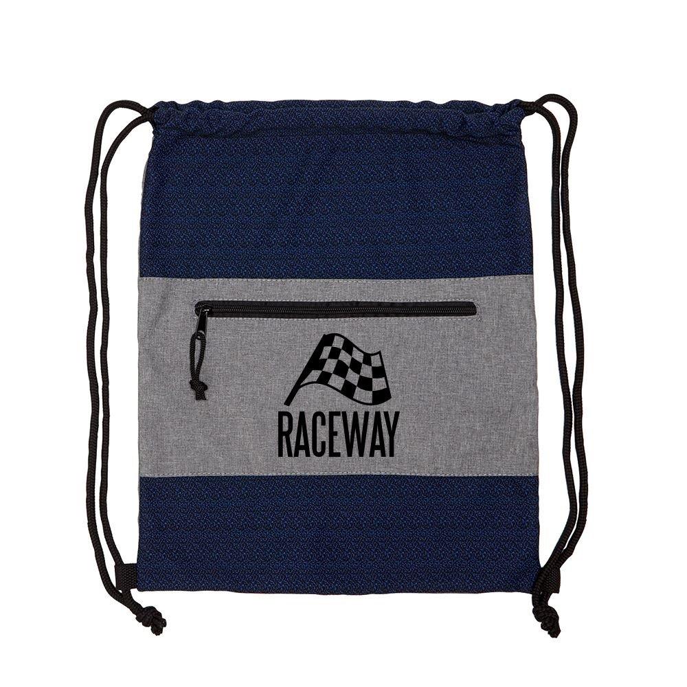Interwoven Drawstring Backpack