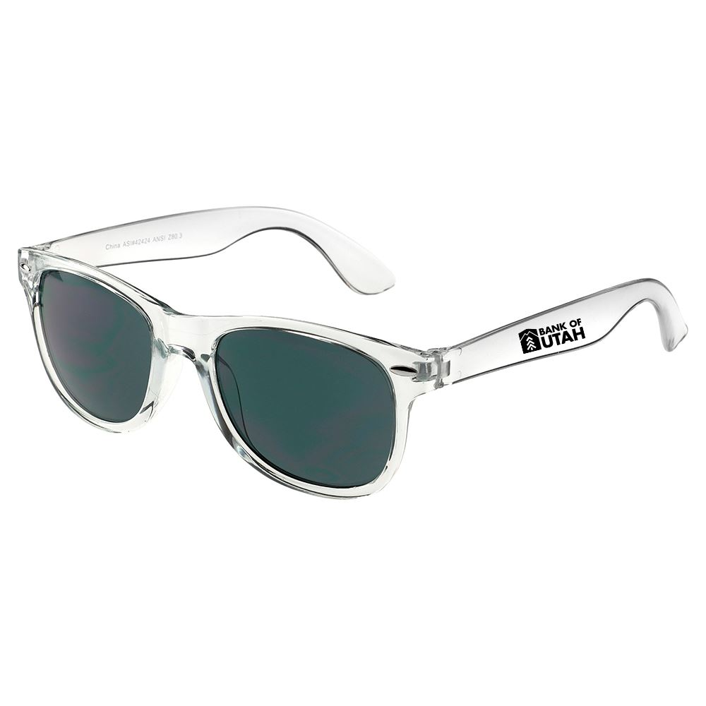 Crystal Sun Ray Sunglasses- Personalization Available