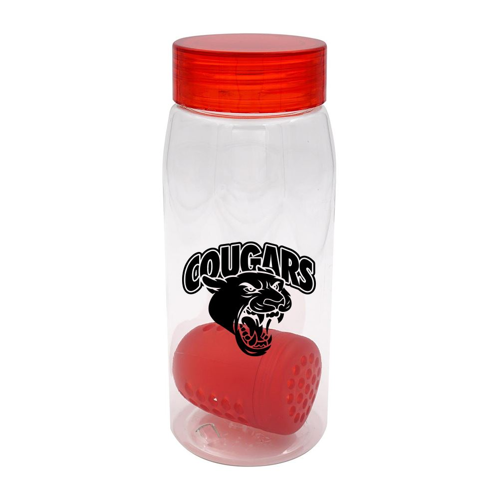 Clear View Bottle with Floating Infuser 25 oz.- Personalization Available