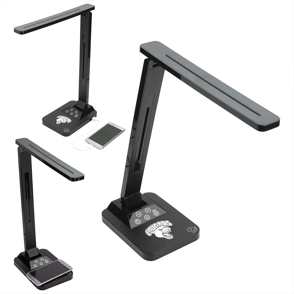 Limelight Desk Lamp with Wireless Charger-Personalization Available