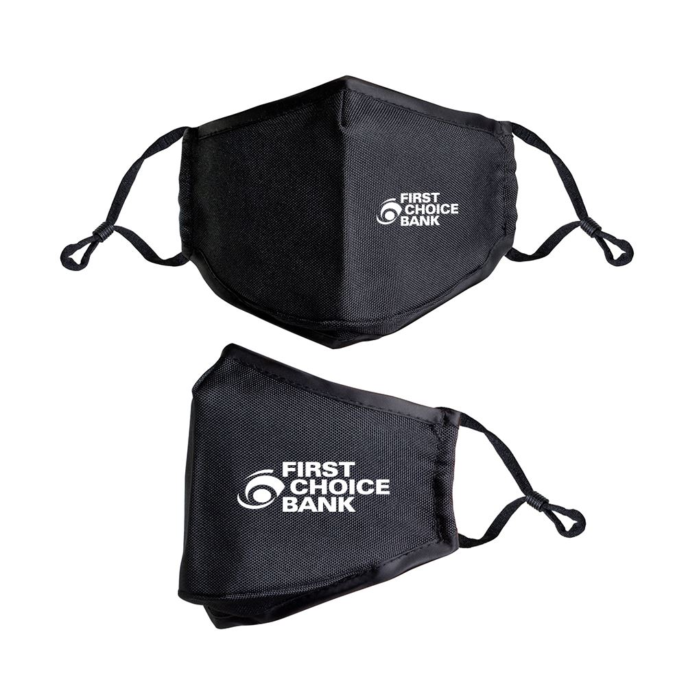 Face Mask with Matching Carry Case- Personalization
