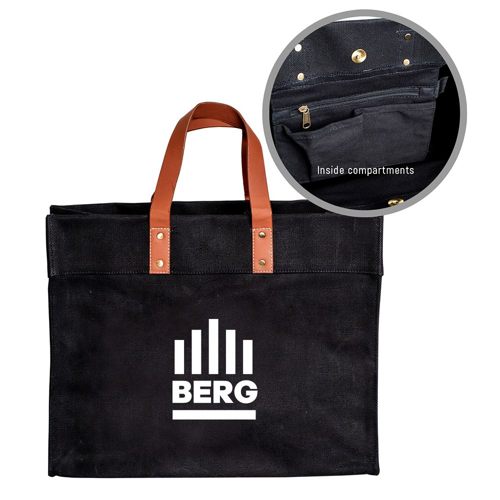 The Chadwick Tote Bag- Personalization Available