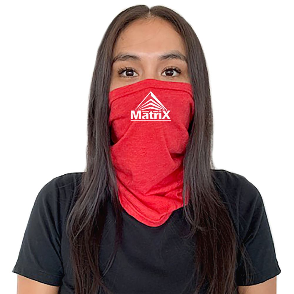 Next Level® Multifunctional Tri-Blend Adult Neck Gaiter Face Cover- One Color Personalization Available
