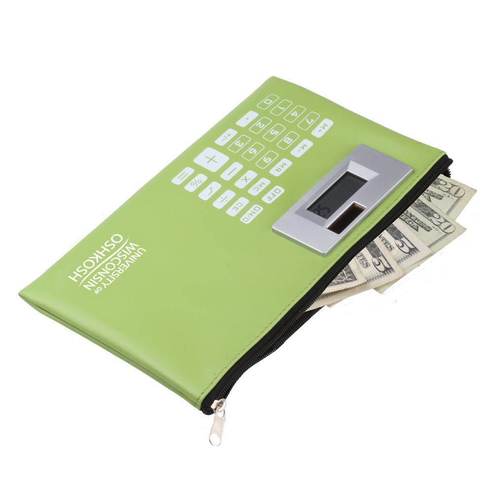 Calculator Wallet-Personalization Available