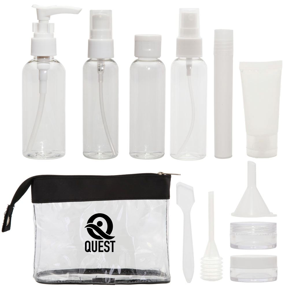 12 Piece Travel Kit with Labels- Personalization Available
