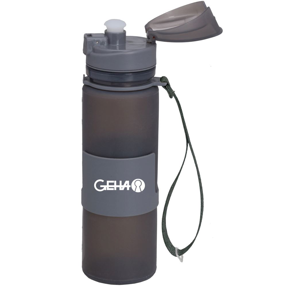 Foldable Silicone Bottle 20 oz.-Personalization Available