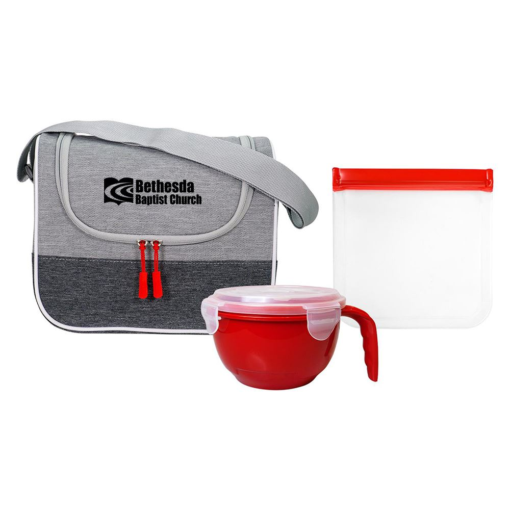 Bay Noodle and Sandwich Cooler Set-Personalization Available