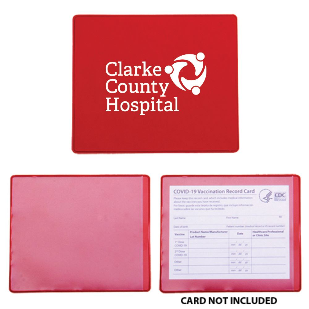 COVID-19 Vaccination Card Holder-Personalization Available