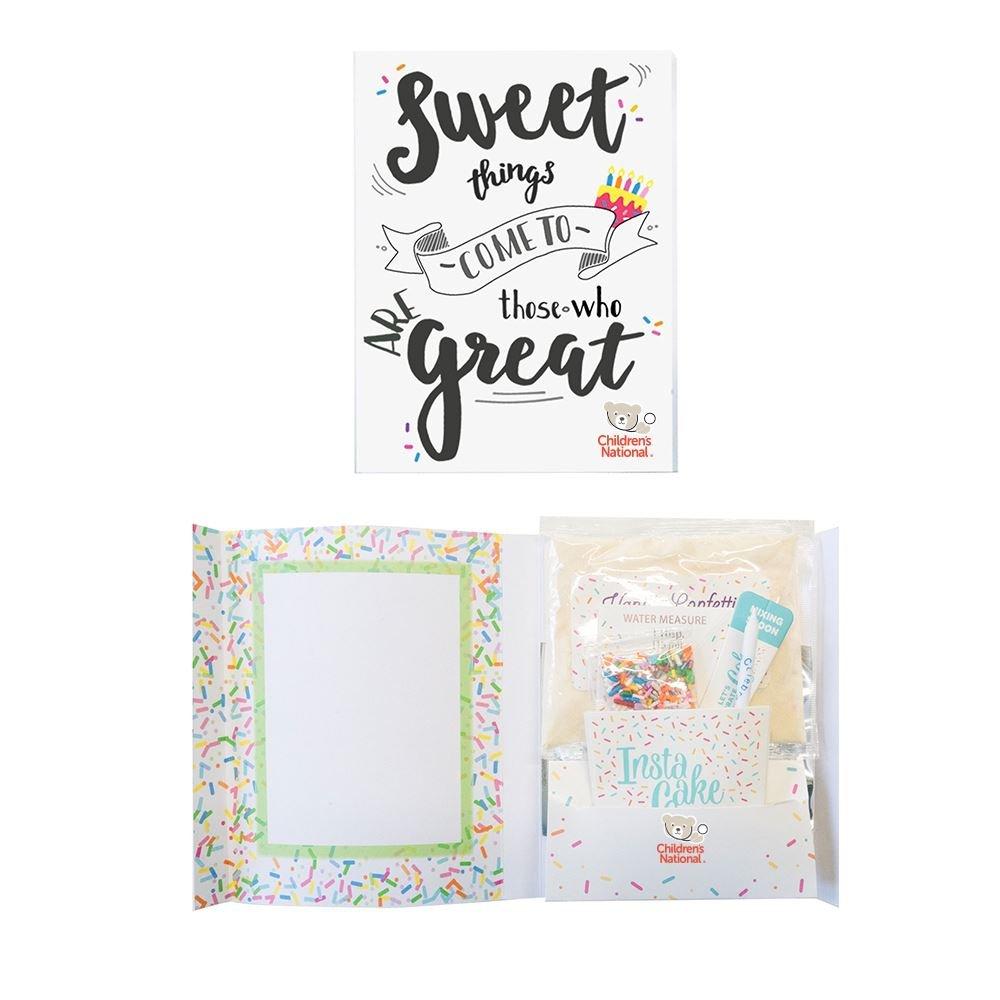 Instacake Appreciation Cake In a Card