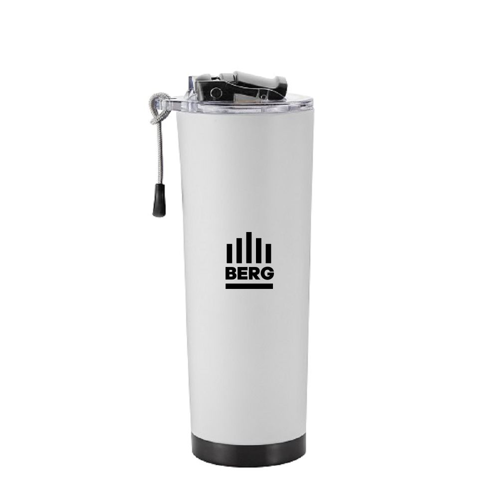 Mountaineer 24 Oz Tumbler With Rope Carrying Strap