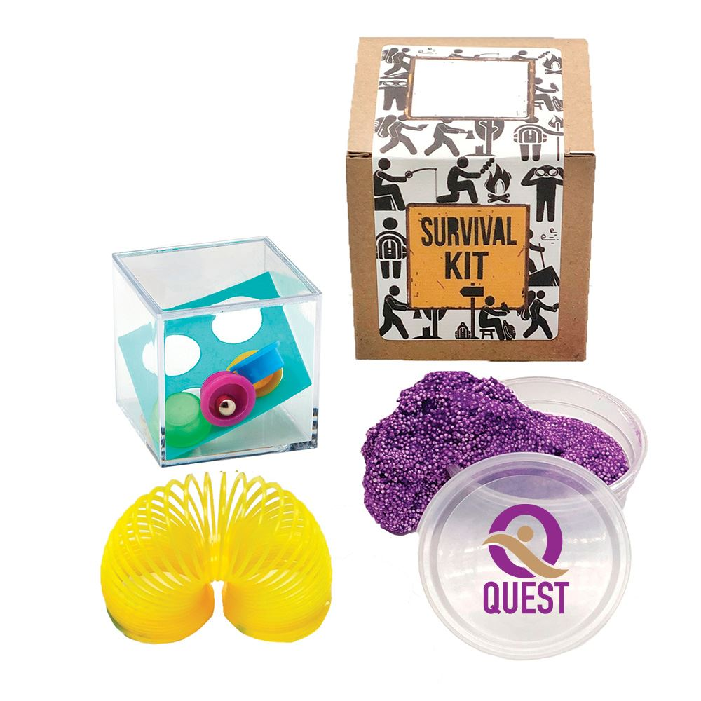 Fidgeter-Friendly Fun Kit - Full Color Personalization Available