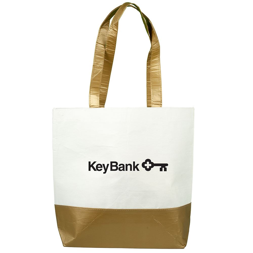 Skyline RPET Laminated Tote Bag