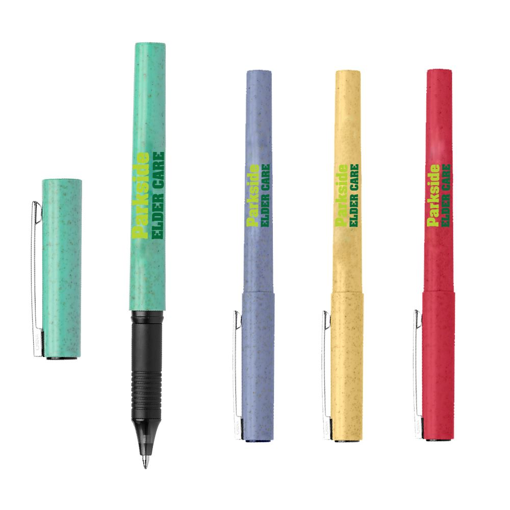 Fox Gel Eco Wheat Plastic Pen