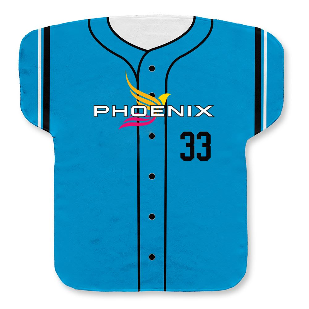 Jersey Shaped Rally Towel- Personalization Available