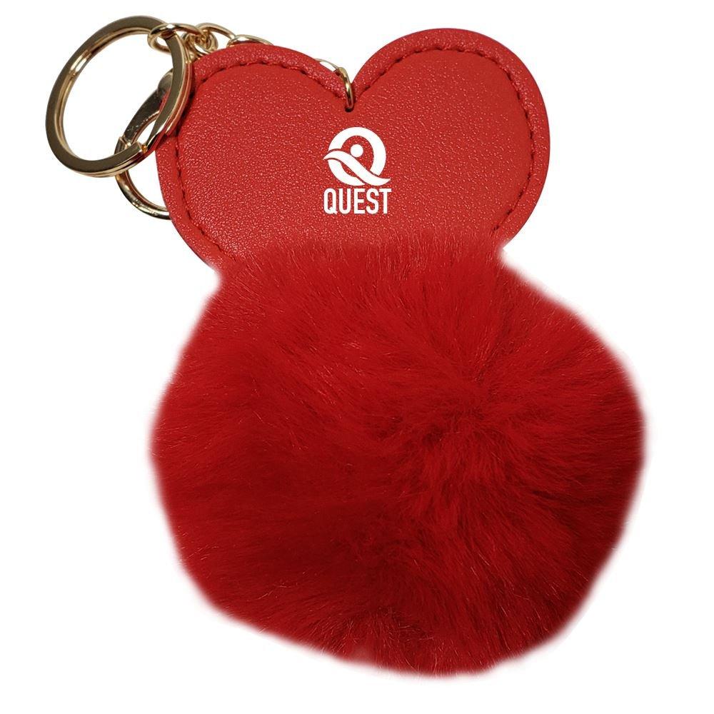 Heart Super Plush Keyring