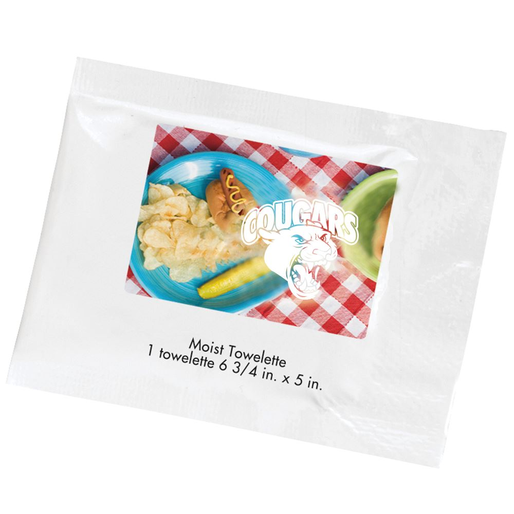 Natural Ingredient Moist Towelette