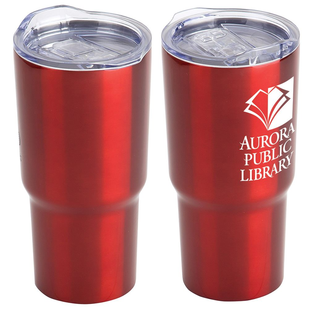 Thunder Vacuum Insulated Stainless Steel Travel Tumbler - 20 Oz. - Personalization Available