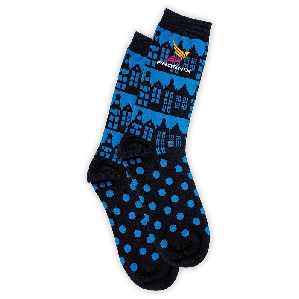 Full Color Woven Socks