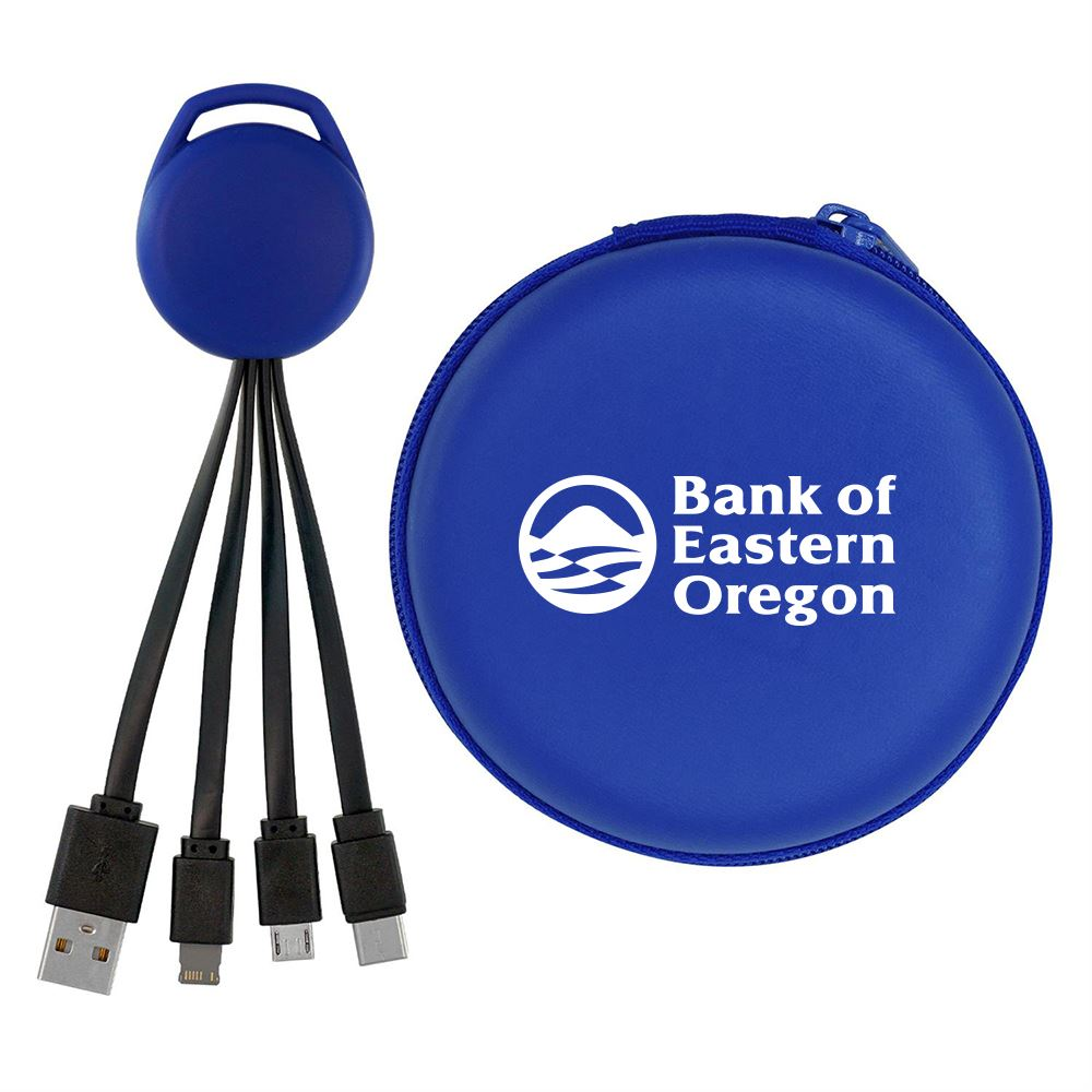 Round Vivid Cable Case